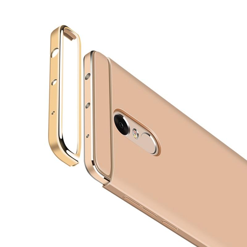 Xiaomi Redmi Note 4X Case 3 in 1 Luxury Ultra Thin Coque - Բջջային հեռախոսի պարագաներ և պահեստամասեր - Լուսանկար 4