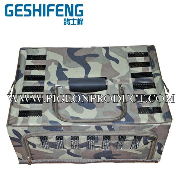 Métal pliable avec cage de transport CanvasTransportation couleur Camouflage 60 cm