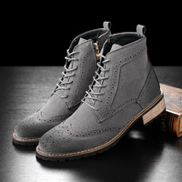 2016 NEW Style Men Boots West Top Quality 3 Color Euro 39 44 Slp Designer Autumn