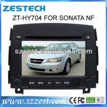 ZESTECH car audio dvd player for Hyundai Sonata NF car dvd gps with radio tv/BT/IPOD/TV/IPHONE menu and gps navigation