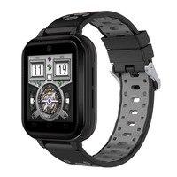 4 г карты мобильного Smartwatch Телефонный звонок Netcom IP67 Водонепроницаемый шаг счетчик пульса крови Давление gps видеовызова Смарт часы