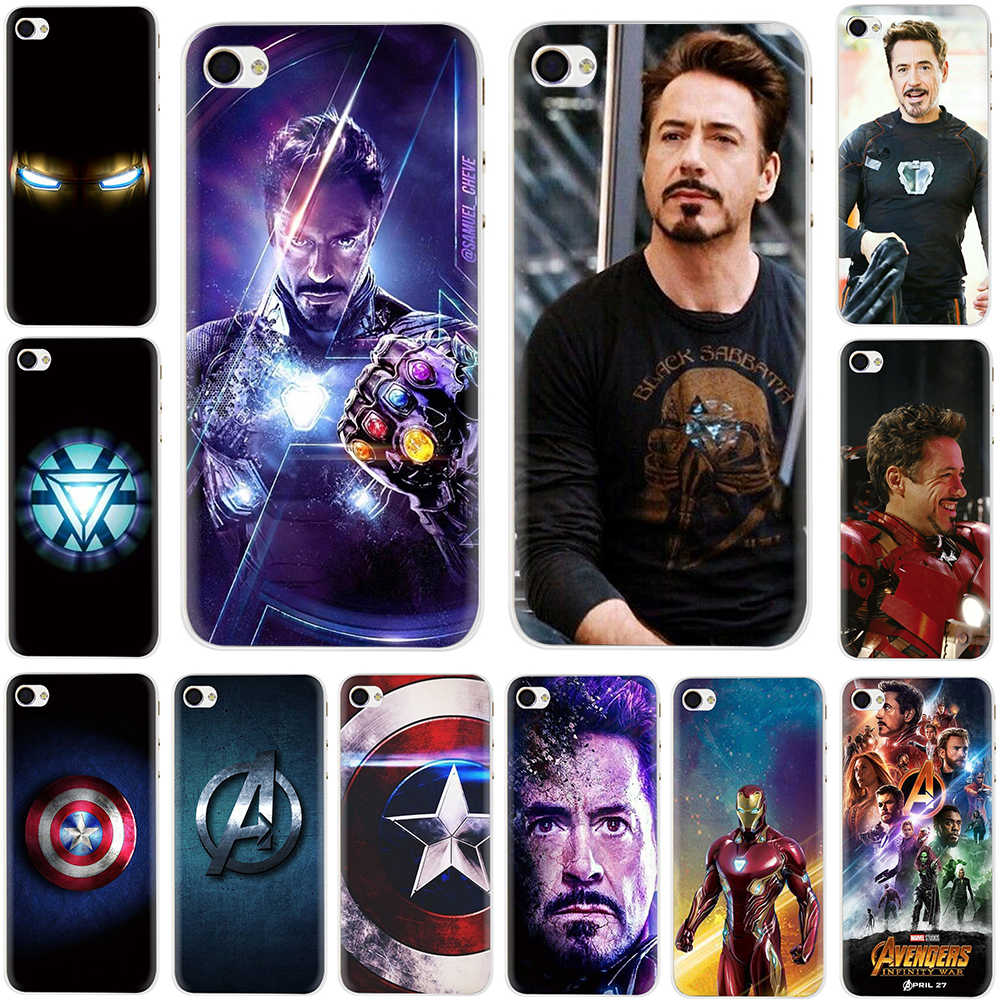 Iron Man Hard Case สำหรับ Apple iPhone 5 5 S SE 6 6 S 7 8 Plus X XR XS MAX