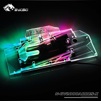 Bykski GPU Water Block for GIGABYTE AORUS RTX2080 XTREME 8G Full Cover Graphics Card water cooler
