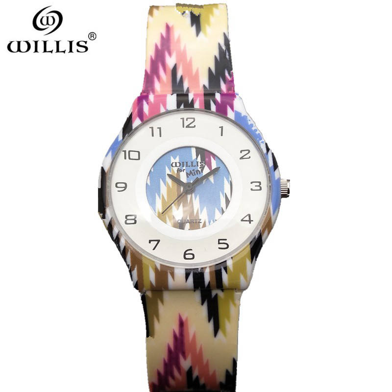 WILLIS Brand Ultra thin Dial womens Watches Top Brand Luxury Silicone strap Quartz Watch fashion girl Leisure Relogios feminino weiqin w3224 shell dial ultra thin ceramic women quartz watch