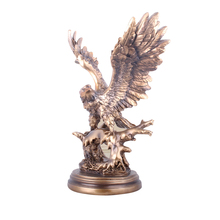 Big Size Creative Eagle Figurine Decoration Office Desktop Resin Handicraft Ornaments Gift Cabinet Interior Furnishings Crafts