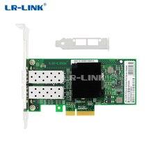 LR LINK 9702HF 2SFP double Port Gigabit Ethernet carte Fiber optique Lan carte pci express x1 adaptateur réseau Intel 82580 PC Nic