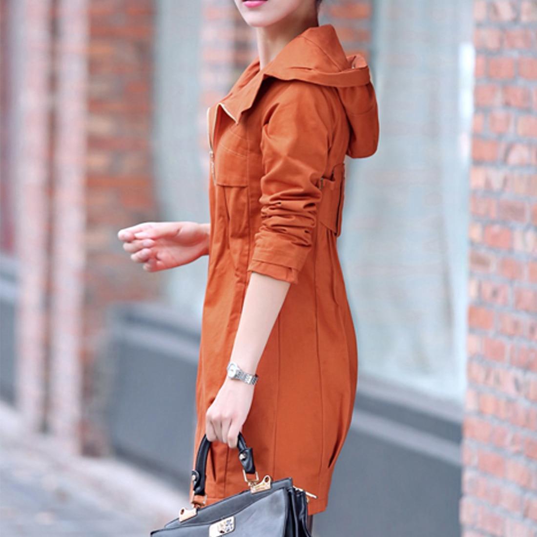 JIMMYHANK Fashion Winter Women's   Trench   Coat With A Hood Warm Cotton Spliced Big Size Windbreaker Female Outerwear