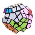 2016 Hot Sale 12-side Megaminx Magic Cube Velocidade Enigma Torção Educação Inteligência Toy Presente