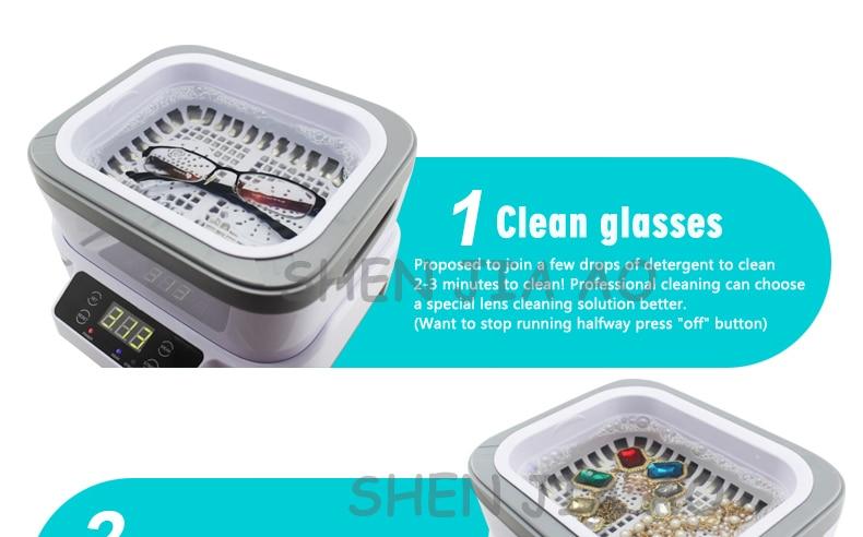 rachado óculos domésticos relógio de jóias máquina