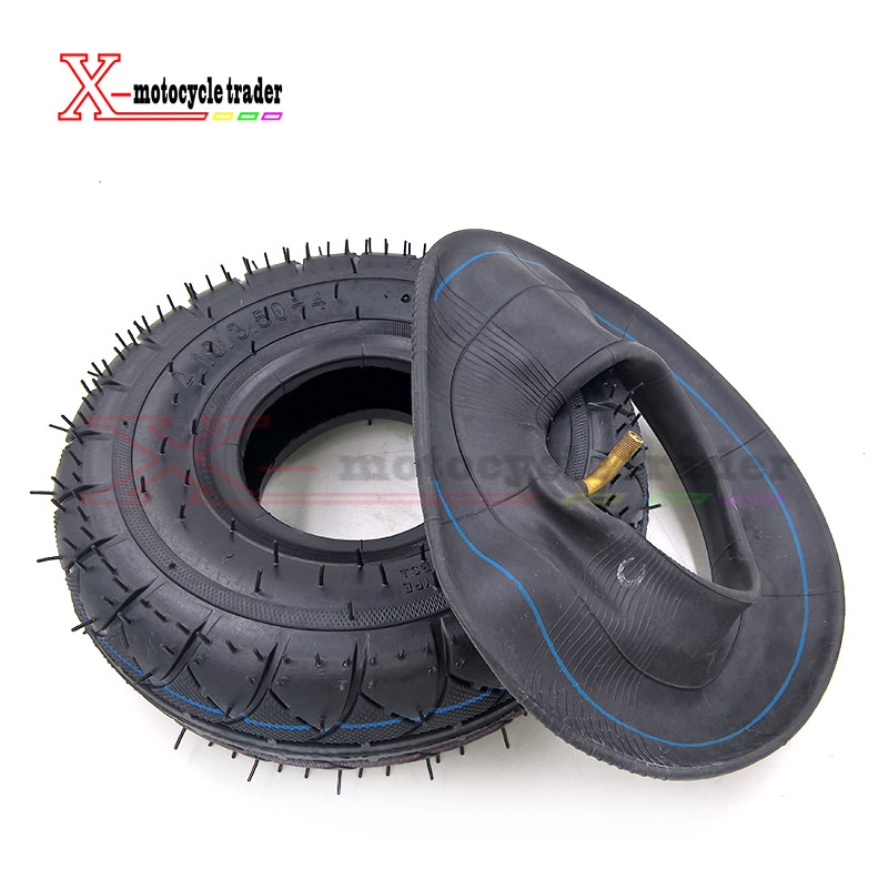4.10 3.50-4 Tyre 4.10-4 Tires And Inner Tube Fit Electric Tricycle Trolley Electric Scooter Warehouse Car 10 Inch