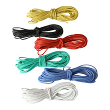 18AWG UL1007 PVC Stranded Tinned Copper Wire, Hook Up Wire Flexible 34 Gauge 300V Electric Cable for General Application DIY 22awg arcade stranded hook up wire pvc flexible electronic tinned copper wire electronic cable 10m 33ft per pcs