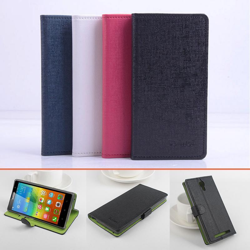 For Lenovo K80/K80M Hit Color Cases Leather Flip Book Wallet Stand Card Holder Phone Case Cover for Lenovo K80 K80M