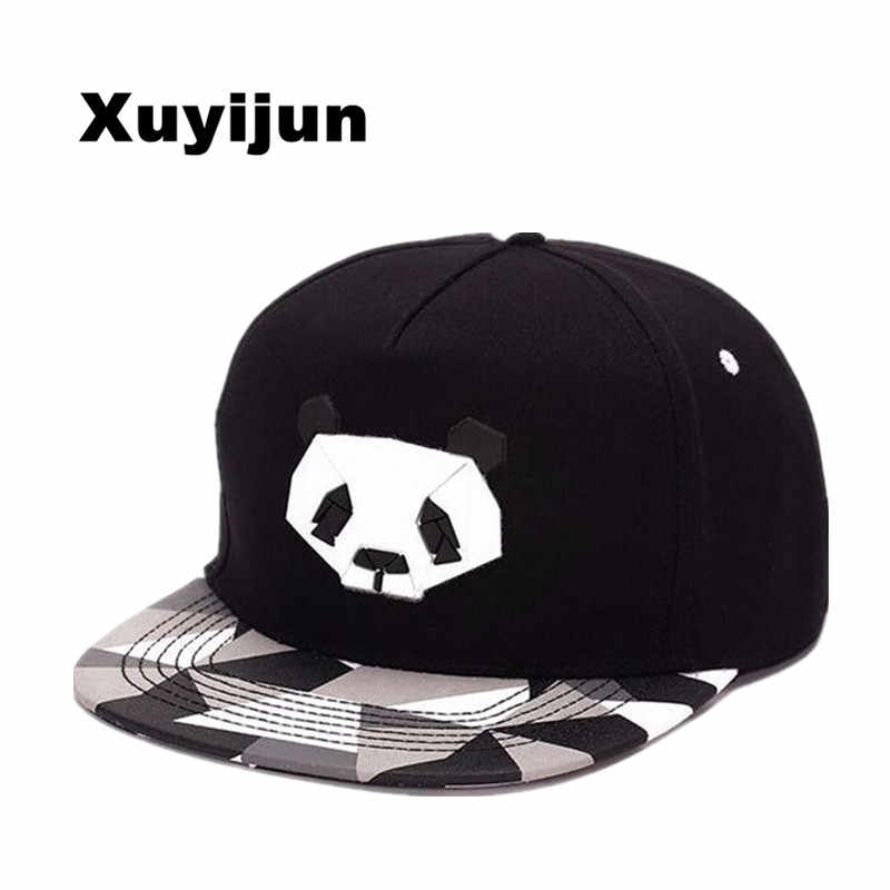 a04d748dfbc75 XUYIJUN fashionspring and summer lovers baseball cap hip-hop hat male Ms. cute  panda