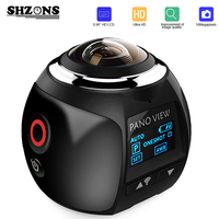 Upgrage V1 360 Action Camera Wifi Mini Panoramic Camera 2448 2448 Ultra HD Panorama Camera 360