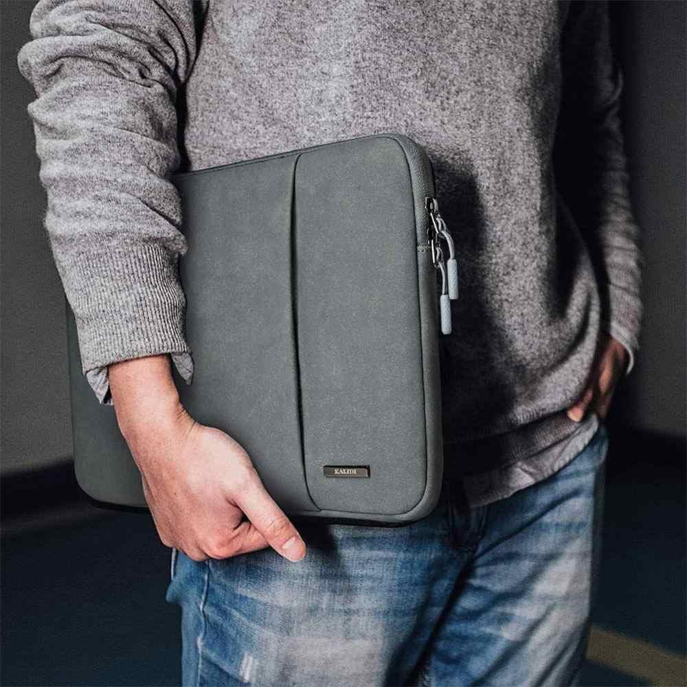 Kalidi luva do portátil 12 13 14 15 polegada moda bolsa para notebook macbook caso para dell asus hp acer computador portátil saco