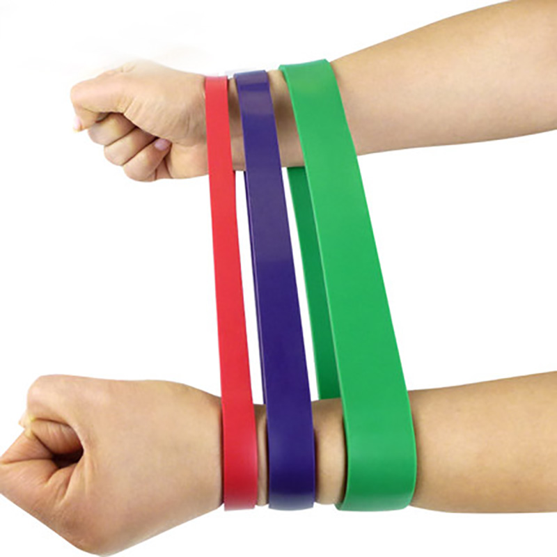 Fitness Resistance Bands Loop Set 3 Level Thick Heavy Crossfit Athletic Power Rubber Bands Workout Training Exercises Equipment 2016 set of 3 latex exercise resistance bands loop fitness power lifting pull up bands strengthen muscles bands