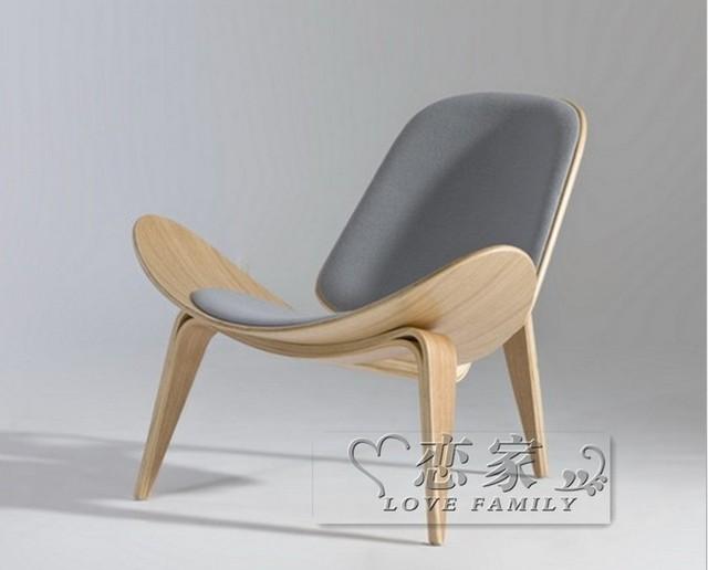 Wooden Furniture Ch198 Replica Wegner Three Legged Ch07 Shell Chair