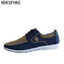 plus szie 38-46 2016 new fashion mens casual Shoes for men canvas shoes men students  footwear spring autumn brand Breathable