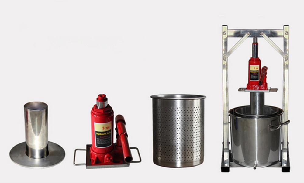 Équipement de vinification d'acier inoxydable de Machine de pressage de raisin de ménage - 5