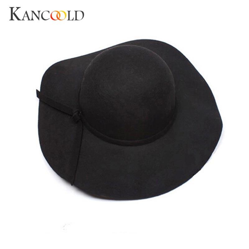 Women Fedoras Hats Wedding Hats Stripes and Flowers Wool Bowler Visor