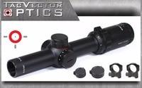 Free Shipping 1 4x24 Vector Optics Long Eye Relief Illumination Rifle Scope 30mm Monotube With Mount