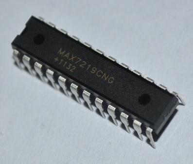 10PCS Free shiping MAX7219 DIP 10pcs/lot