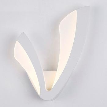 Moderne LED Wandlamp Acryl + Aluminium Ultra Dunne Hoge Helderheid Wandlampen Voor Slaapkamer Woonkamer Hal Bed licht thuis
