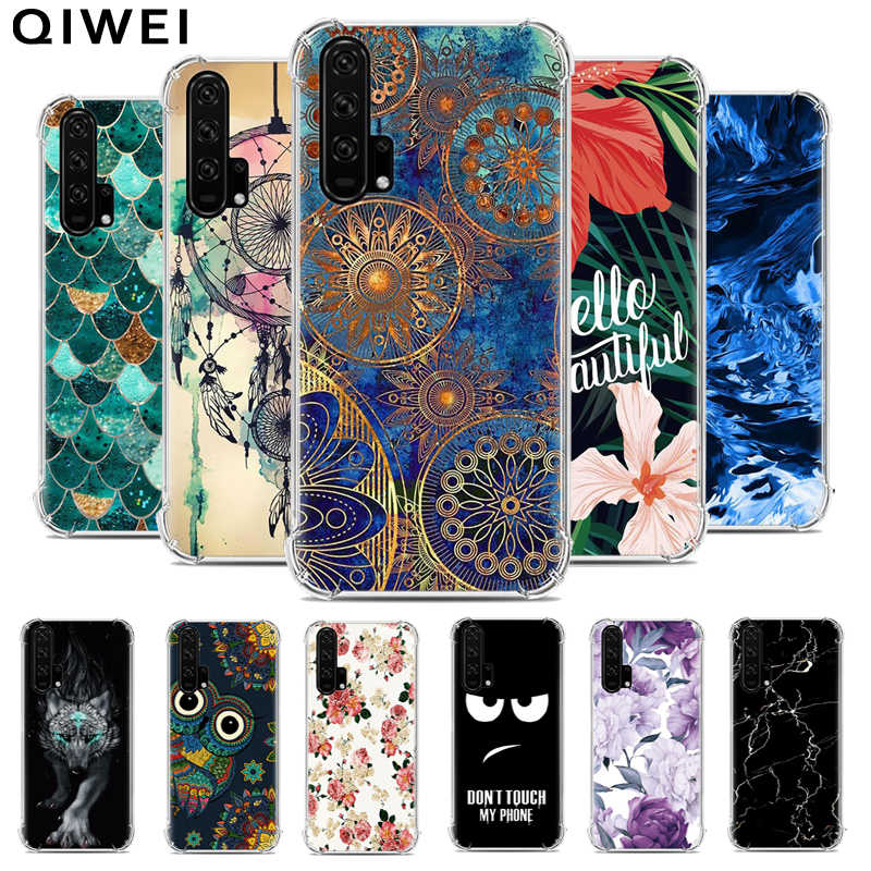 6.26'' Coque For Huawei Nova 5T Case Cute Painting Soft TPU Back Cover For Huawei Nova 5t Nova5t Silicon Phone Cases slim Fundas