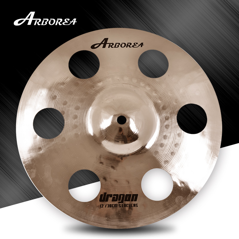 Arborea Cymbals Dragon Series B20 12 6 Ozone stacker cymbals 100% Handmade for Pop and RockArborea Cymbals Dragon Series B20 12 6 Ozone stacker cymbals 100% Handmade for Pop and Rock