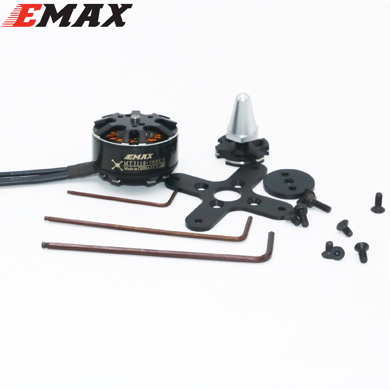 Original EMAX Brushless Motor MT3110 700KV KV480 Plus Thread Motor CW CCW for RC FPV Multicopter Quadcopter