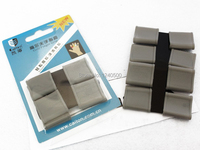 Free Shipping Golf Finger Toe Silicon Support Sleeve Protector Grip Grey 8pcs Set Light Grey