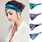 ①  Галстук-повязка с твист-узлом и эластичной оберткой для волос в тюрбане Yoga Sports Ladies hairband  ①