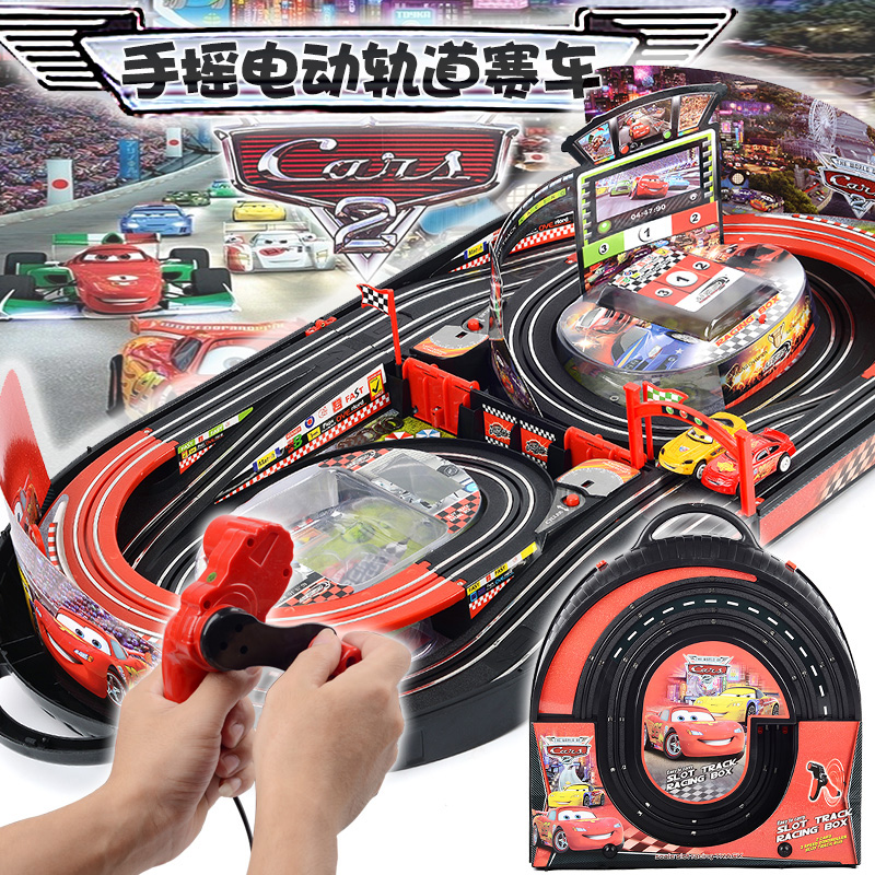 Electric RC Train Track Sets For Kids Christmas Gift Toy Railway Tracks Trains Parent-Child Interaction Remote Control Rail Car