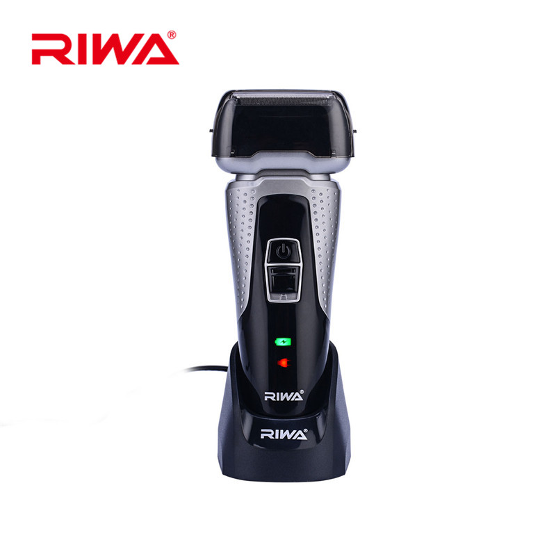 2 Blade Heads Rechargeable Electric Shaver Razor Waterproof Reciprocating Men Shaving Machine Fast Charge 3D Floating Barbeador 2017 hot sales new primitive man shaving machine 5 d waterproof rechargeable crime is portable travel man to the electric razor