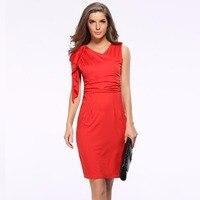 Женская Туника взрыв рукава пакет Платья для вечеринок платье тонкий сексуальный карандаш Летние красные Лолита сплошной цвет Сращивание ...