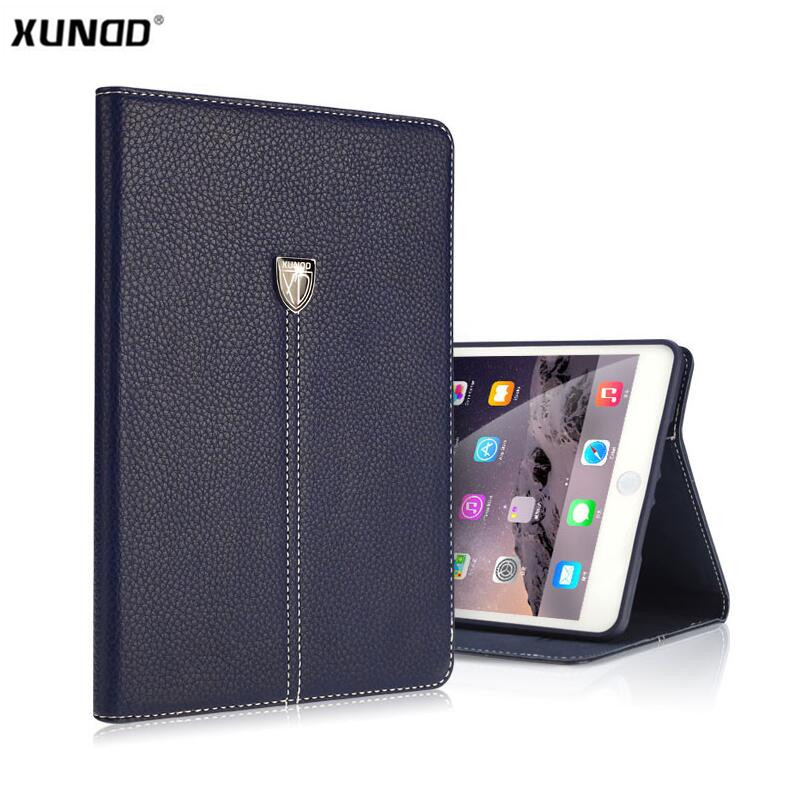 Brand Luxury Business Shockproof Flip Wallet Stand Leather Case Smart Cover For ipad mini1/2/3 Retina ipad 2 3 4 Air 1/2 Shell
