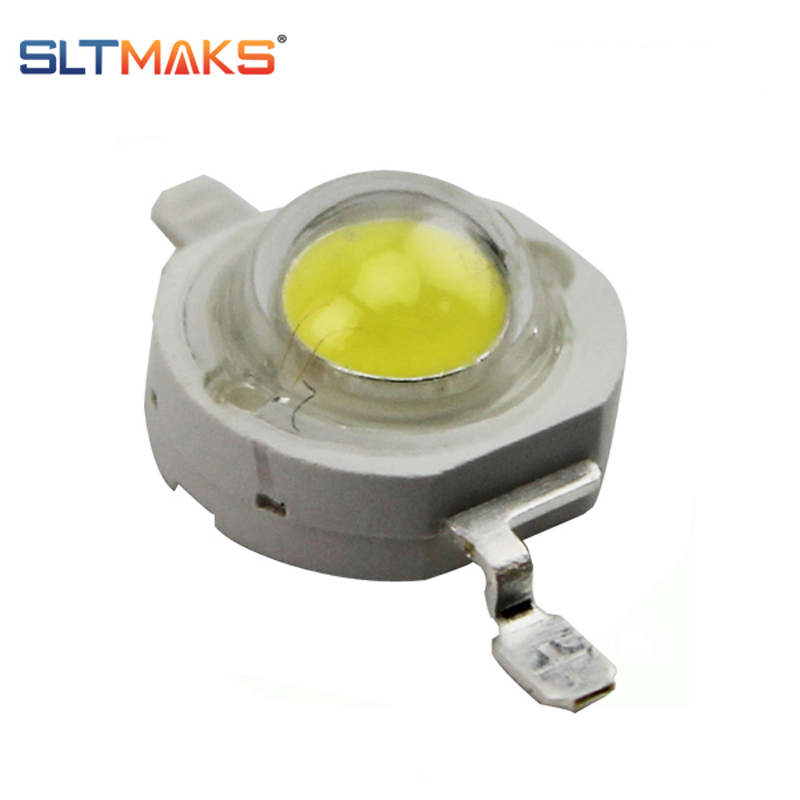 High Power Supper Bright 10PCS Led Chip 3w 1w 5W Warm Pure Cool White LEDs 2700-15000k for LED Lamps