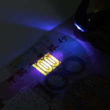 In stock! Handheld Portable UV Led Light Torch Lamp Counterfeit Currency Money Detector Newest