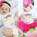 New Baby Clothes 0-12M Baby Infant Funny Chick Bodysuit Summer Short Sleeve Kids Girls Boys Body Clothing
