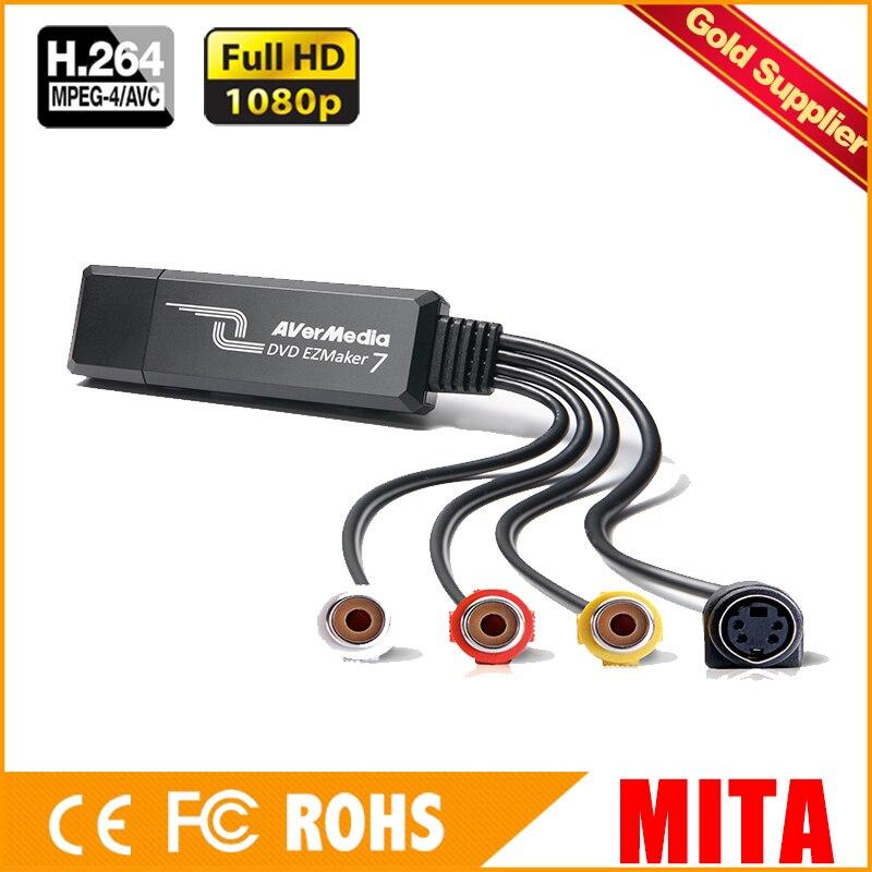USB 1-Channel 3 Chips Acquisition Card Chip USB Video Capture Card Surveillance Capture (C039P)