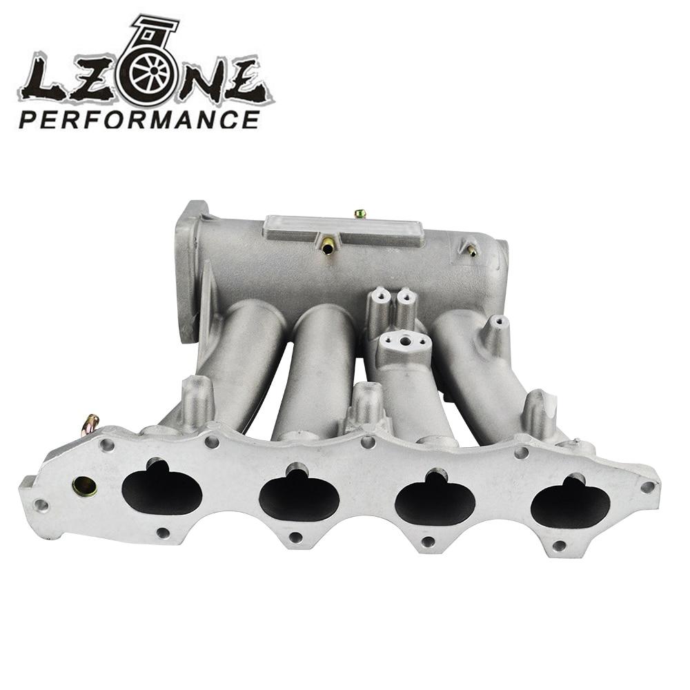 Lzone Racing For 99 00 Honda Civic 92 01 Acura Integra Aluminum 1992 Spindle Cast Intake Manifold Upgrade Bolt On Jr Im42ca