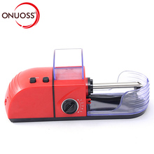 ONUOSS Portable Electric Automatic Cigarette Rolling Machine Tobacco Roller Maker Inject Tube 8mm Cigarette JL-033A