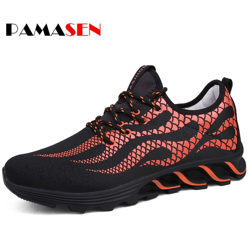 PAMASEN Men Casual Shoes Spring Autumn Mens Trainers Breathable Shoes Zapatillas Hombre Shoes Shoes Male 2016 new spring autumn breathable casual shoes for men british style fashion men flat shoes blade mens trainers zapatos hombre