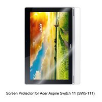 Clear LCD PET Film Anti Scratch Touch Responsive Screen Protector Cover For Acer Aspire Switch 11