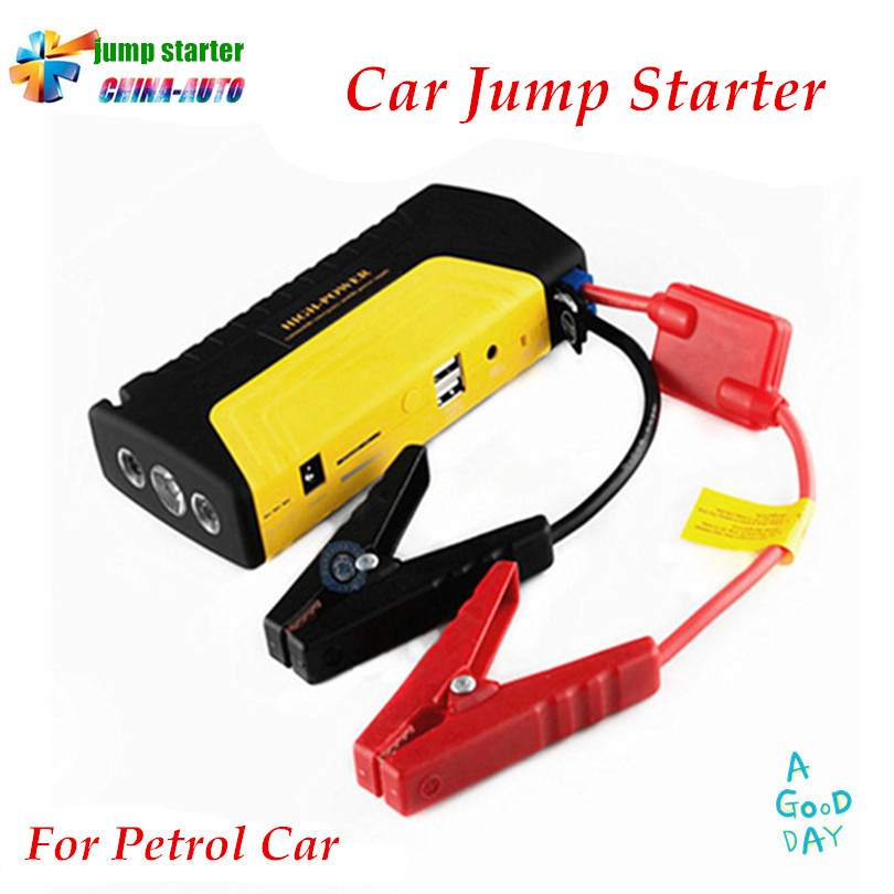 цена A++ quality Mobile Portable Mini Car Jump Starter Car Jumper 12V Booster Power Battery Charger Phone Laptop Power Bank