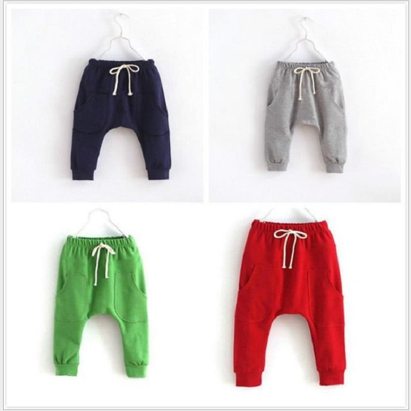 61c2cc5a7eeae9 Hooyi Boys Harem Pants Kids Sport Hot Sport Pant Children Clothes Terry Baby  Boy Clothing Grey Navy 2 3 4 5 6Year