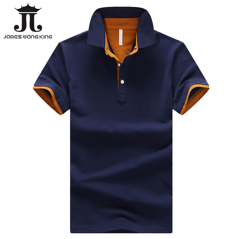 Summer polo men shirt New 2018 fashion solid cotton short sleeve tops for man slim Breathable polo shirts plus size M-3XL,4XL