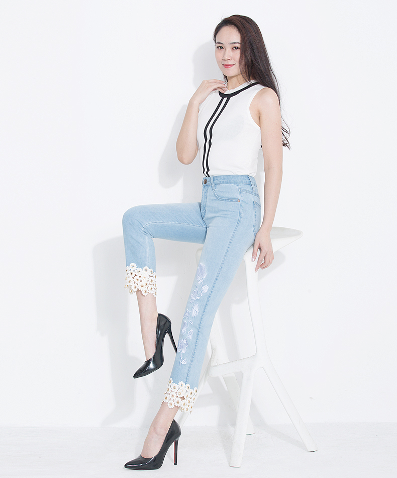 KSTUN jeans woman high waisted stretch straight slim fit jeans vintage push up sexy ladies jean femme 2018 denim pants plus size 16