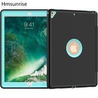 Hmsunrise For IPad Pad Pro 12 9 Inch Case Ultra Slim Smart Case 3 Folding Stand