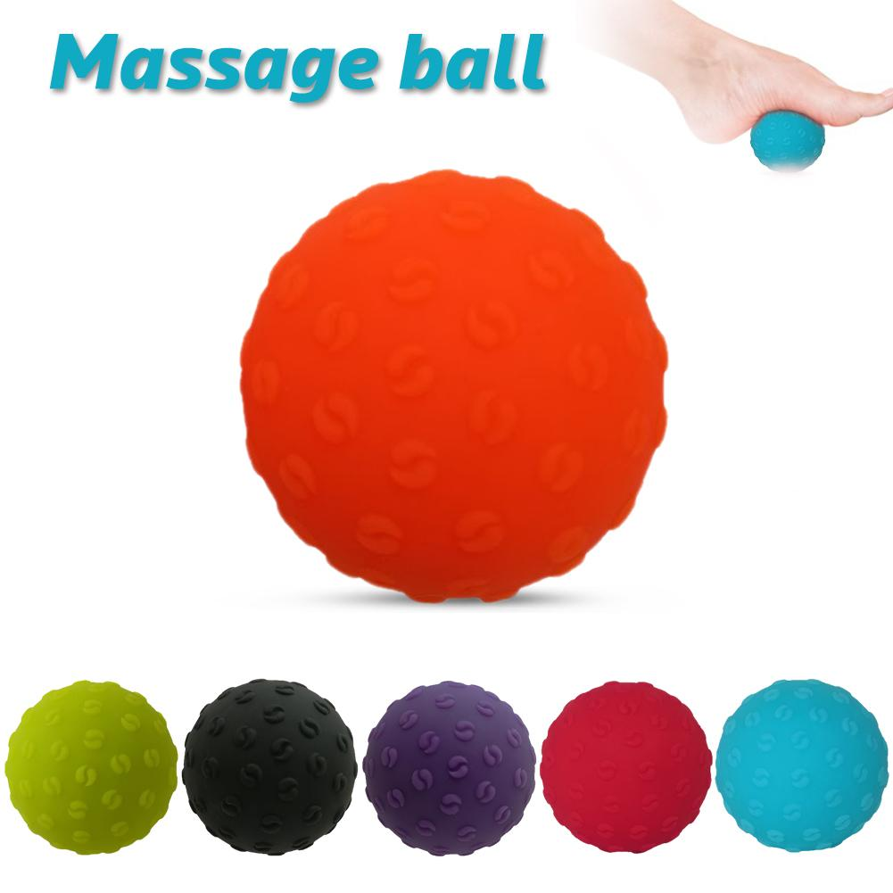 6.3cm Fitness Pain Stress Trigger Point Knot Massage Ball Crossfit Muscle Relief Tools Yoga Exercise Training Balls